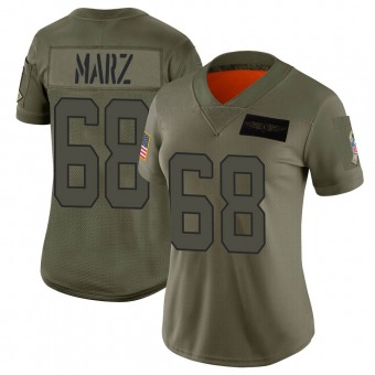 Women's Tyler Marz Camo Limited 2019 Salute to Service Football Jersey