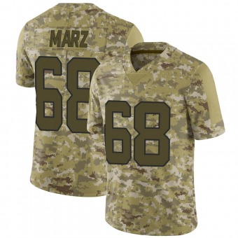 Youth Tyler Marz Camo Limited 2018 Salute to Service Football Jersey