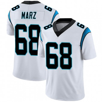 Youth Tyler Marz White Limited Vapor Untouchable Football Jersey